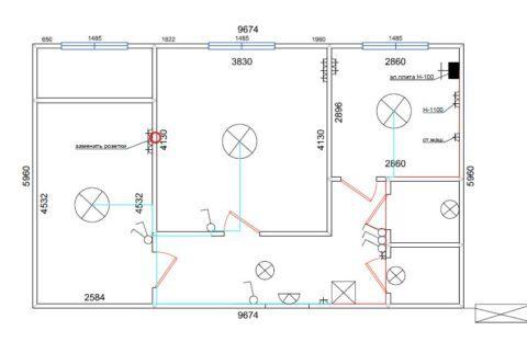 Расчет электропроводки 1