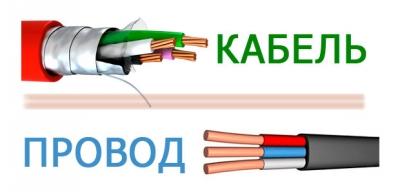 Выбираем провод или кабель
