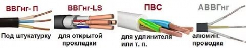 Критерии выбора кабеля