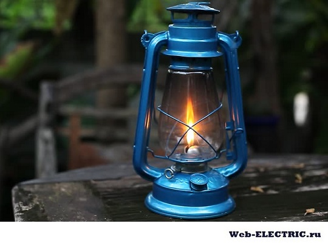 Освещение в беседке без электричества фото