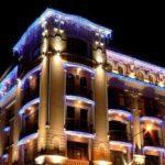 Как сделать архитектурная подсветку и освещение фасадов зданий