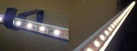 Типы подсветки штор