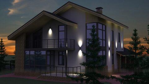 Особенности подсветки здания
