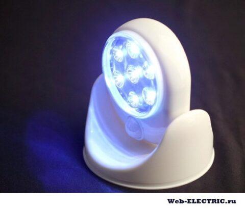 Беспроводное освещение для бани