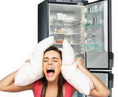 Громко работает холодильник
