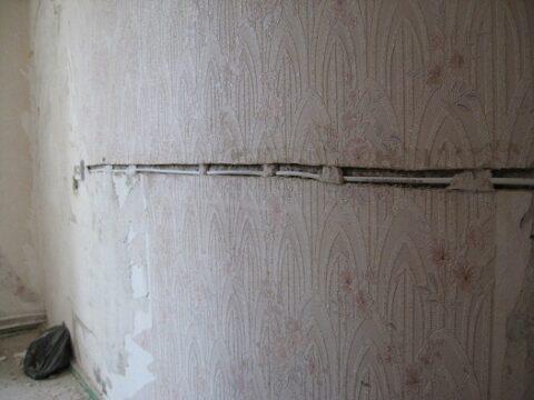 Закладка линии