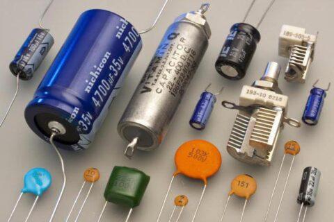 Типы конденсаторов