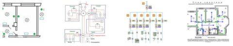 Схема электромонтажа