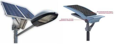 Автономные светильники