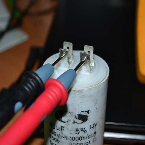 Проверяем конденсатор