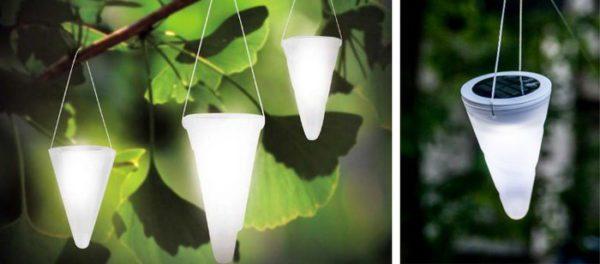 декоративные подвесные фонари автономные