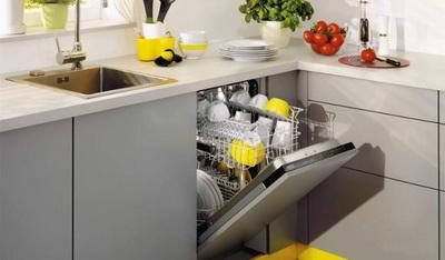 Неисправности посудомоечной машины