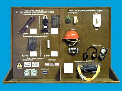 Средства защиты в электроустановках напряжением до 1000 В