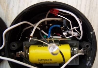 Устройство светильника на солнечной батарее