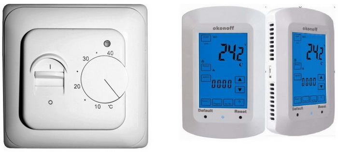 Терморегуляторы для инфракрасного обогревателя