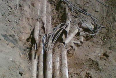 Разрыв кабеля
