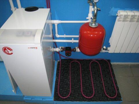 Установка электрокотла отопления
