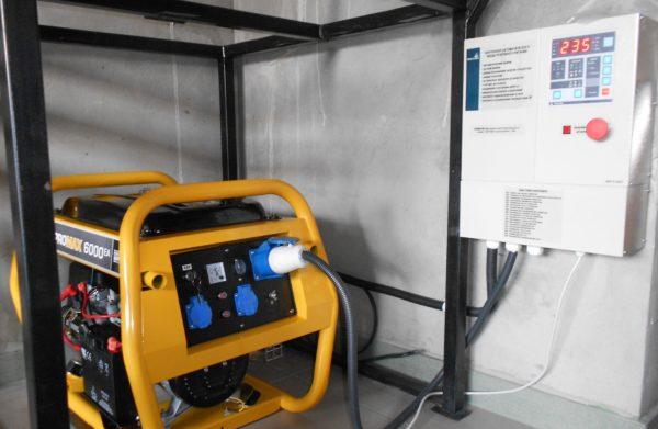 генератор через АВР