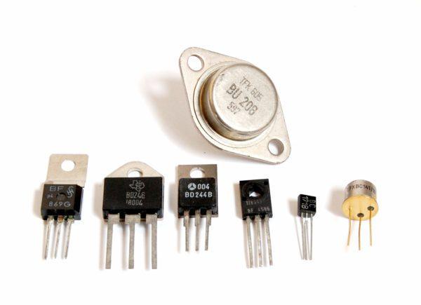 как выглядит транзистор